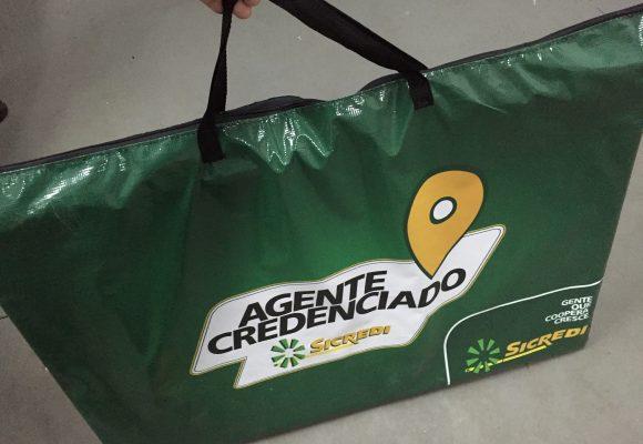 Sicredi - Kit Agente Credenciado - Bolsa e Placas (13)